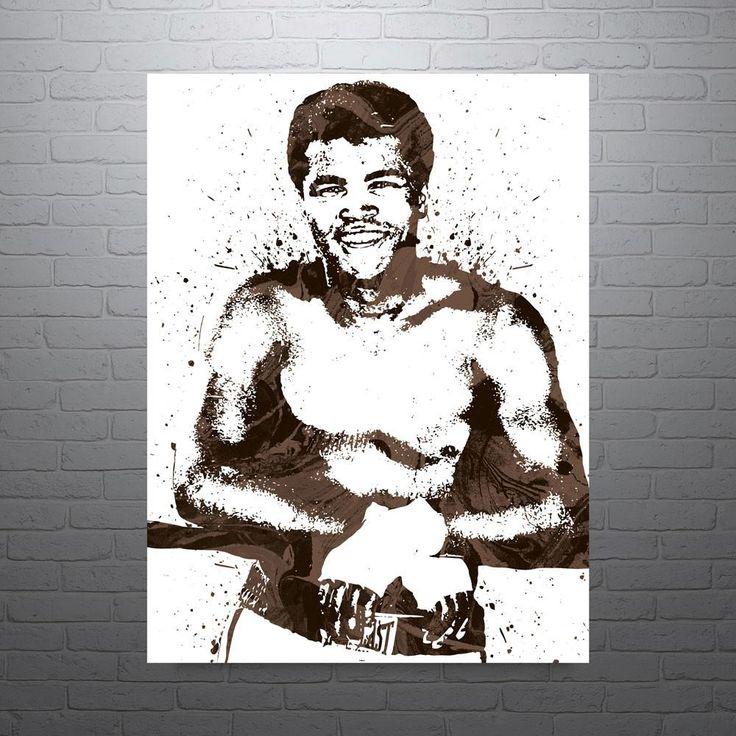 Muhammad Ali Boxing Poster