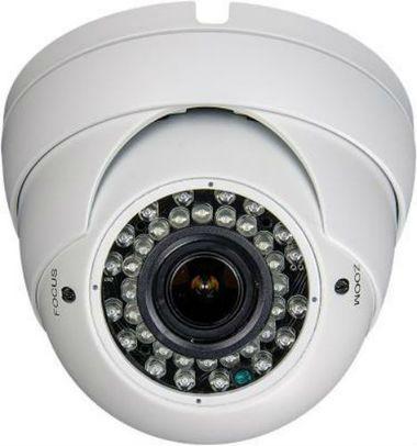 EX-SDI 1080p Outdoor IR Eyeball Dome Camera w/ 2.8~12mm Vari-focal Mega-Pixel Lens & 36 IR LEDs (Economic)