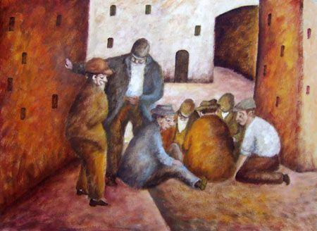 Ottone Rosai, Giocatori di toppa