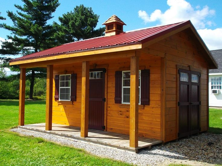 112 best images about garden shed ideas on pinterest for Amish built sheds