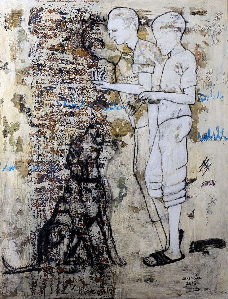 Static movement Mixed media on canvas 150 x 110 cm 2015 @Mark Hachem Gallery  #shadi_abousada #syrian_artist #شادي_أبوسعدة #shadiabousada #art #painting #shadow #markhachemgallerybeirut #artwork #acrylic #pink #artgallery #fineart #color #canvas #contemporary #exihibtion #beirut #gemmayzeh #dubai #lebanon #syria #holland #paris #painting #bullfighting #shadow #jordan