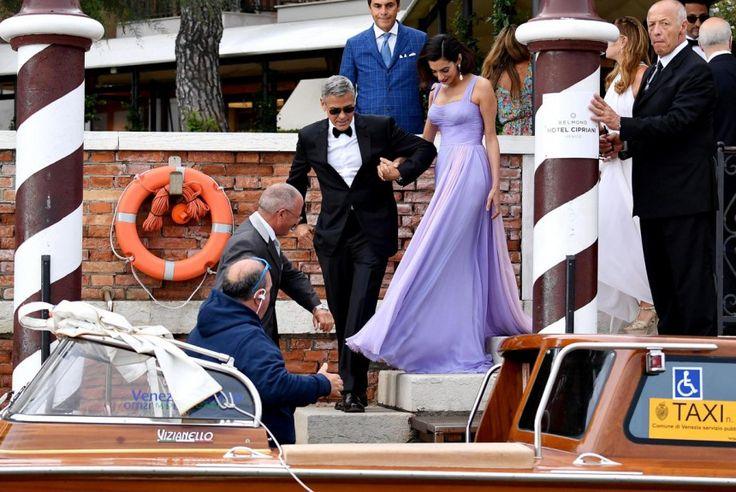 Χολιγουντιανή υπεροχή και γοητεία από το ζεύγος Κλούνεϊ-Αλαμουντίν στη Βενετία   LiFO