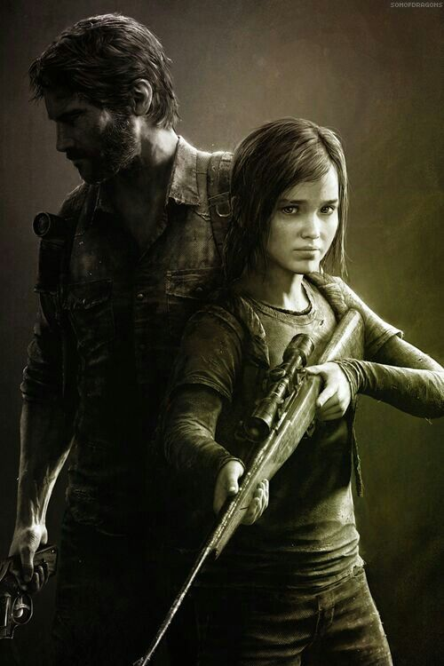 Joel & Ellie - The Last of Us