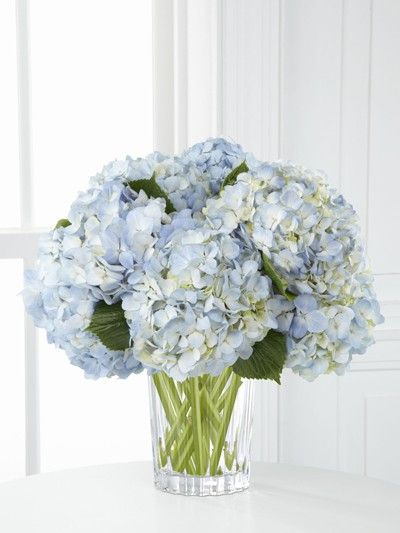 Blue hydrangea centerpieces with branches pixshark