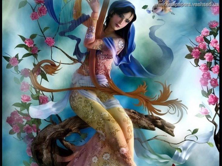 Meninas fantasia - Papéis de Parede: http://wallpapic-br.com/desenhos-animados-e-fantasia/meninas-fantasia/wallpaper-5802