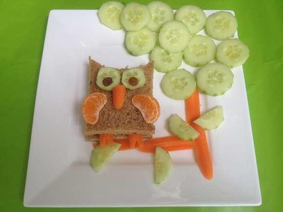 De kinderen op een leuke manier laten kennis maken met gezonde voeding.