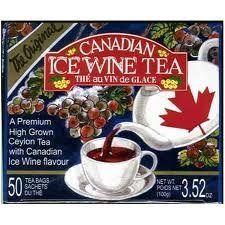 canadian ice wine tea