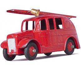 Wanted Wheels Grote muursticker - vintage brandweerwagen