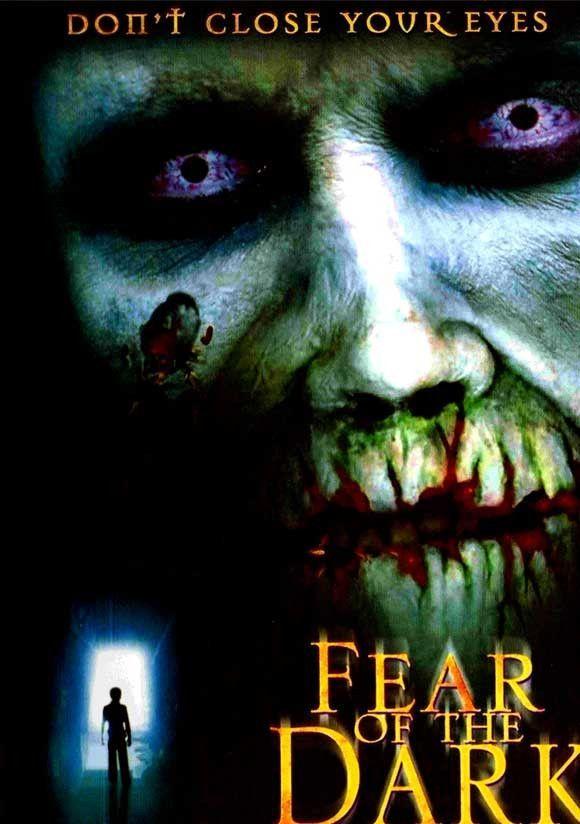 Fear of the Dark Movie Poster 27x40 Used Jesse James, Charles Edwin Powell, Rachel Skarsten, Linda Purl, Kevin Zegers