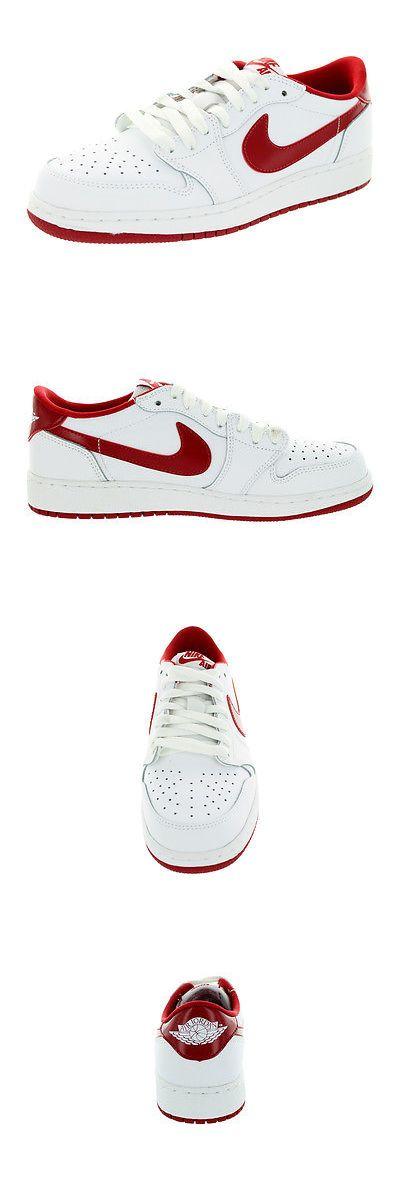 Youth 158973: Nike Kids Air Jordan 1 Retro Low Og Bg White Varsity Red White Basketball Shoe 7 -> BUY IT NOW ONLY: $79.9 on eBay!