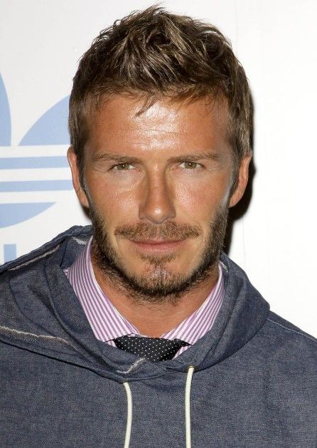 David Beckham Short Faux Hawk Haircut for Men