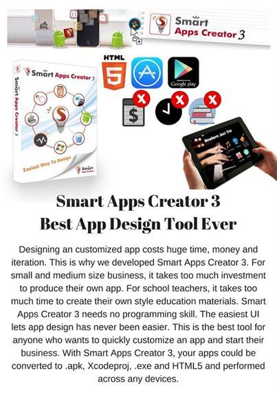 App, design, tool - Every walk of life is able to show! No programming, convert to Html5. Cross-device. Best app design