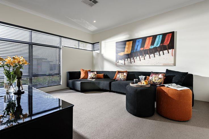 Theatre - Aspire Display Home - Homebuyers Centre - Aveley, WA Australia