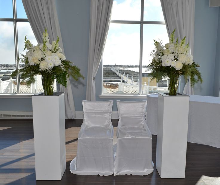 All White Ceremony Peices