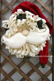Gata Bacana Moldes: Molde Papai Noel