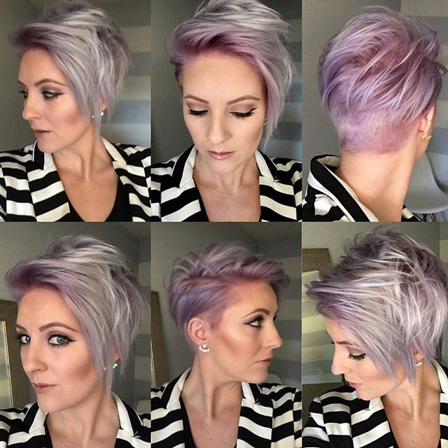 short messy haircuts 16 best emily hair and makeup images on 1265 | 2e6652eacf876659c5d1a5ce9a295428 lilac color longer pixie