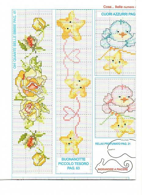 1000 images about cross stitch on pinterest christmas for Lenzuolini punto croce schemi