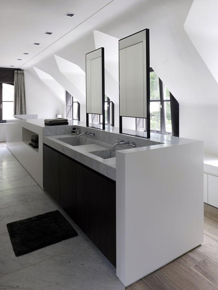 Obumex   Interior   Bathroom   Mirrors   Black & White   Design   Craftmanship