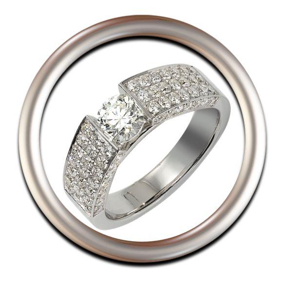 Anillos Colección -Kissing Diamonds- La colección Kissing Diamond refleja la conexión entre dos personas… entre dos diamantes tal y como un beso.
