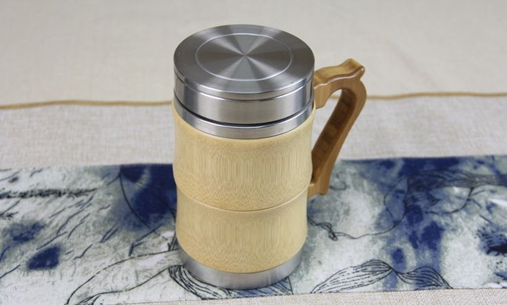 Best Sale bamboo Vacuum Flasks/ThermosesTermo Mug 350Ml Stainless Steel tea Cup Travel Vacuum Cup Kettle Garrafa Termica-in Vacuum Flasks & Thermoses from Home & Garden on Aliexpress.com | Alibaba Group