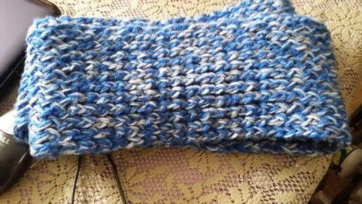 Zelfgemaakte sjaal voor Marlon