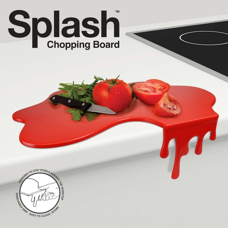 Cleverly designed to make it stable against the edge of the kitchen counter whilst the vertical drip can be easily removed to make a completely flat worktop saver.