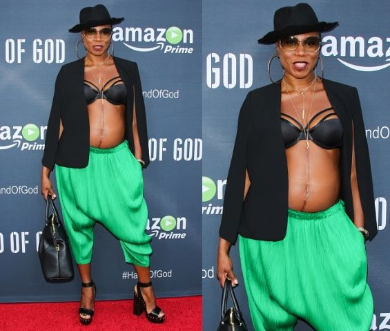 Check Out Actress Aisha Hinds Outfit at 'Hand of God' Series Premiere - https://www.nollywoodfreaks.com/check-out-actress-aisha-hinds-outfit-at-hand-of-god-series-premiere/