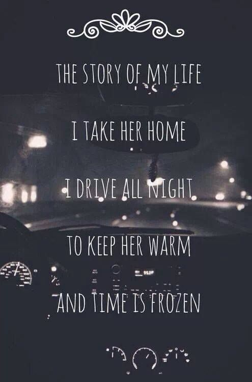 One Direction - Story of My Life. I'm not the biggest One Direction fan, but I am completely in love with this song ❤