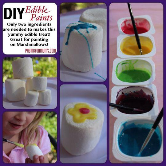 DIY Edible Paints