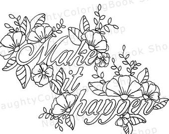 inspirational flower coloring pages - photo#8