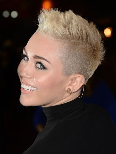 The 25 Cutest Short Hairstyles — and How to Pull Them Off: Miley Cyrus