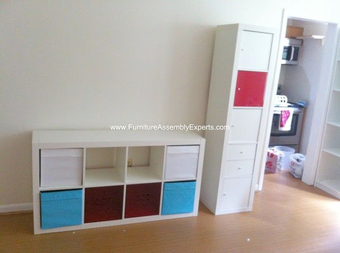 Ikea Expedit Bookshelves Assembled In Upper Marlboro Md By Furniture  Assembly Experts LLC