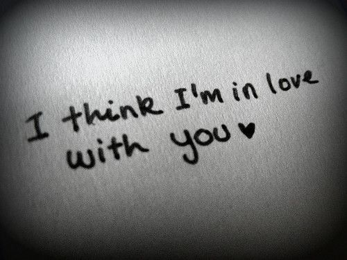 I Think Im In Love With You Lyrics