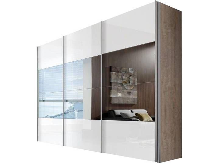 Schwebeturen Schrank Beige 3 Turig Hochglanz Express Solutions Bathroom Mirror With Shelf Hanging Rail Sliding Doors