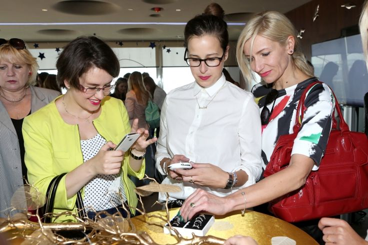 Previewing the new PANDORA collection in Prague