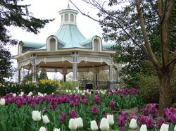 The Gazebo in Mill Creek Park.tops off the scenic views in #Youngstown
