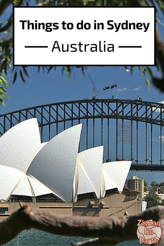 Things to do in Sydney - Australia - Travel Guide- photos and practical information