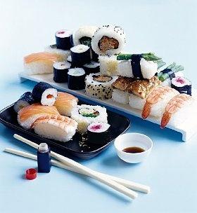 Sushi platter #food