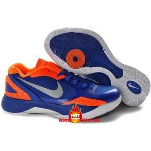 Nike Zoom Hyperdunk 2011 Low PE Black Griffin Orange Blue Grey