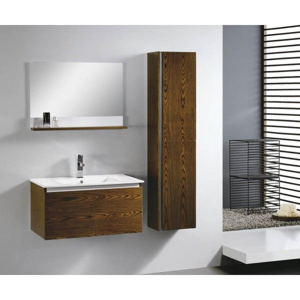 Moderna With Side Storage | Best Value Bathroom Furniture in IrelandMinimalist wall hung vanity with soft close drawer and side cabinet. Perfect for a medium to large sized bathroom.      Measurements  Description:  Dimension (MM): Main Cabinet810*470*420 Mirror With Shelf   750*120*550 Side Cabinet350*240*1500