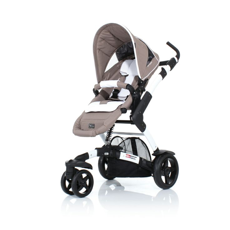 La ninio.ro puteti gasi Carucior ABC Design 3-Tec Bej cu sasiu cu sezut sport din aluminiu. beneficiaza de o suspensie centrala, asezata chiar sub scaunul copilului, atingand o eficienta maxima in atenuarea socurilor.