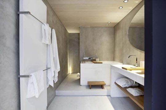 Jurnal de design interior - Baie minimalistă dar rafinată