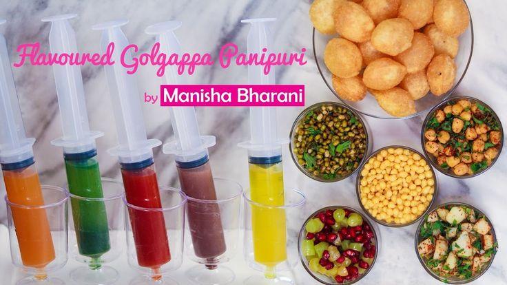Golgappa Pani Puri  - How To Make Flavored Panipuri Puchka Gupchup - Hol...