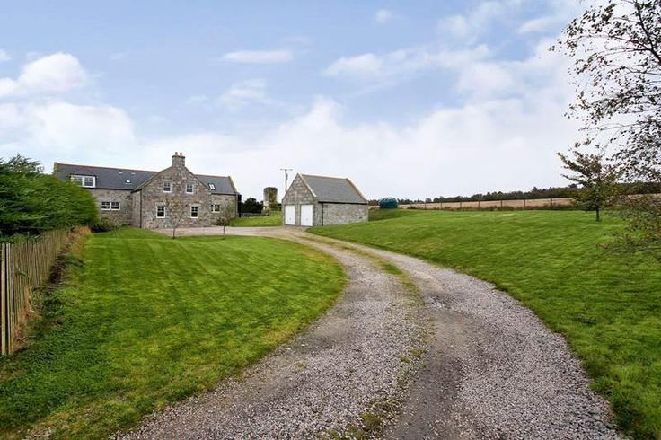 A picturesque setting, Brampton Steading, Maryculter, Scotland