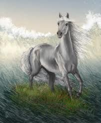 Aonbarr - A horse in Irish mythology that could ride over land or sea.
