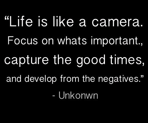 Life is like a camera....Life Quotes, Inspiration, Ruins Quotes, So True, Focus, Quotes Life, Living, Good Time, Cameras Love Quotes