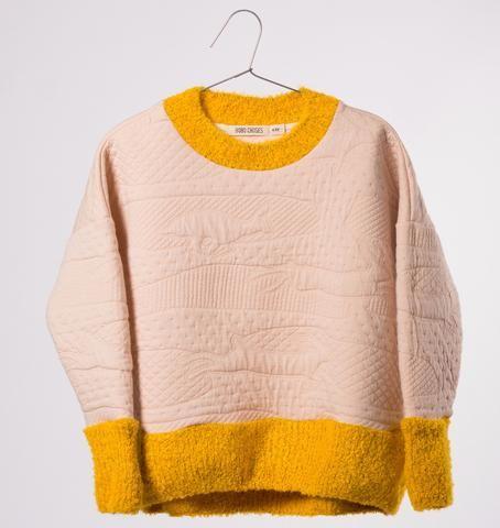 Bobo Choses - Jumping Rabbit sweatshirt - pink
