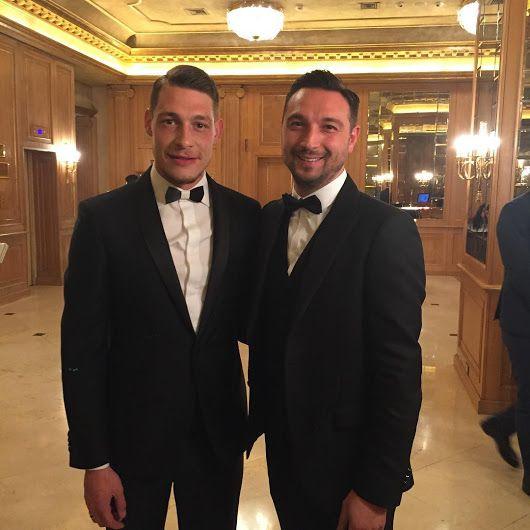 #Stokton #FabioSfienti Fabio Sfienti e il bomber Andrea Belotti alla serata c...
