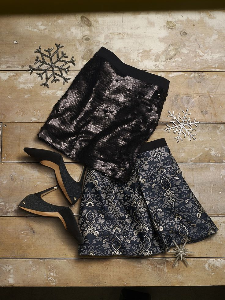 sparkly skirts for nye!
