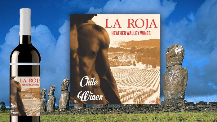 passion la roja Chilean wine